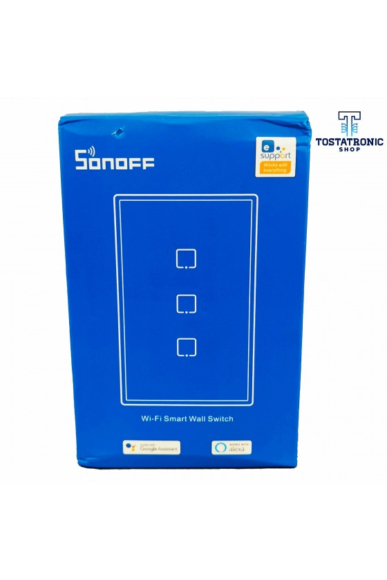 Sonoff T3 3 Switch 2 gang...